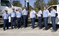 Members of the Callaway Sewer Division